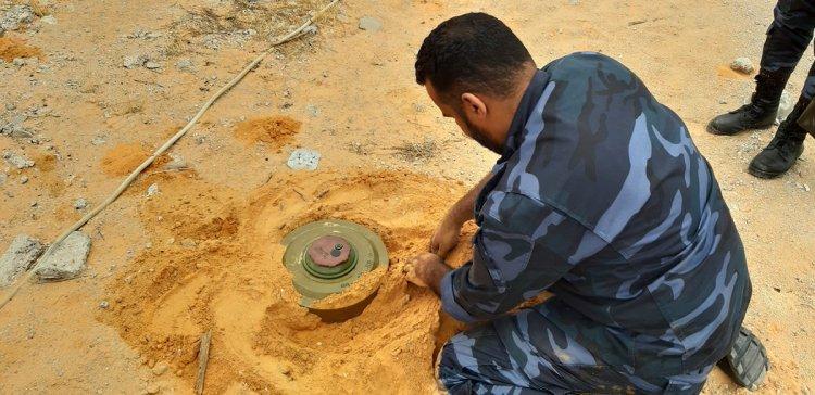 Life-threatening Landmines in Libya