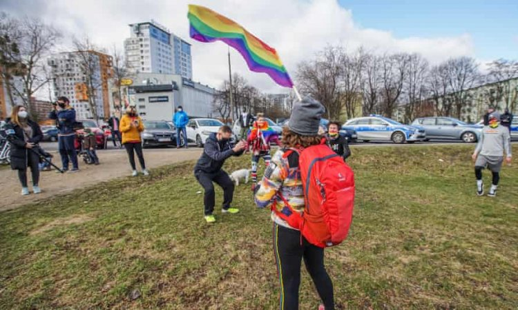 Polish activists stage 'solidarity workouts' in protest to recent homophobic attacks