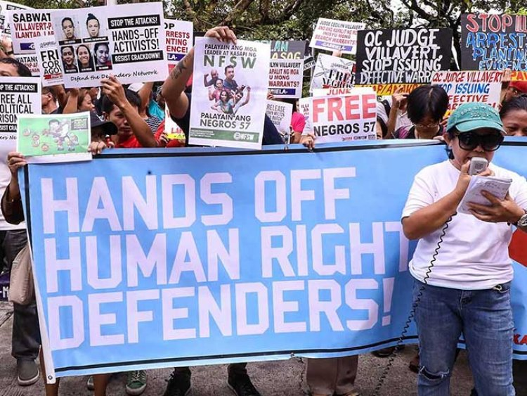 Human rights defenders in the Philippines under threat
