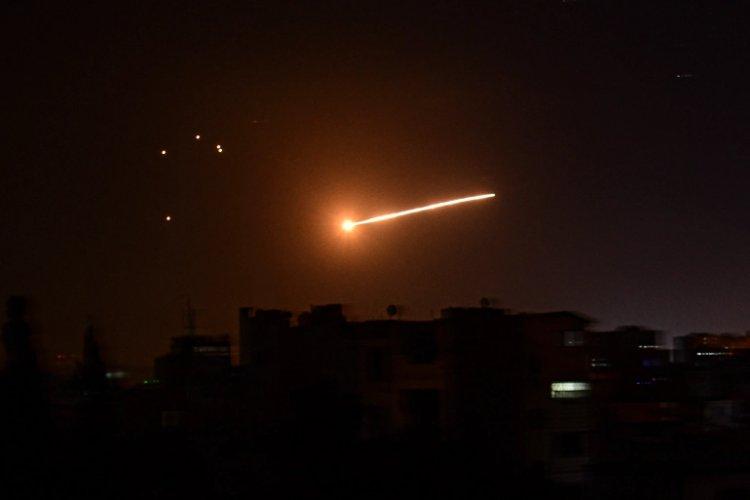 Syria says Israeli air attacks targeted Damascus