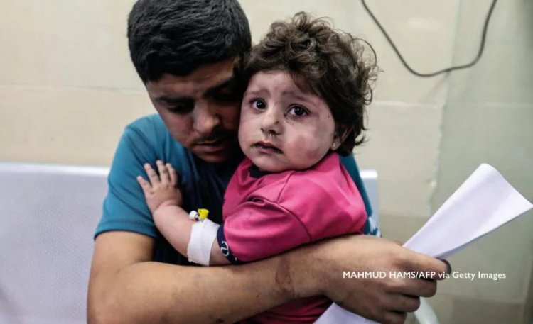 Almost all children in Gaza suffer from PTSD after Israeli attack