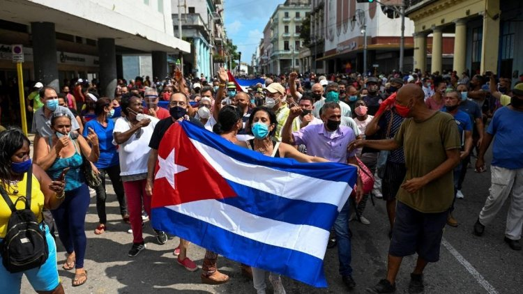 The IACHR and its Special Rapporteur condemn the excessive of use of the State of Cuba in controlling protests in the country.
