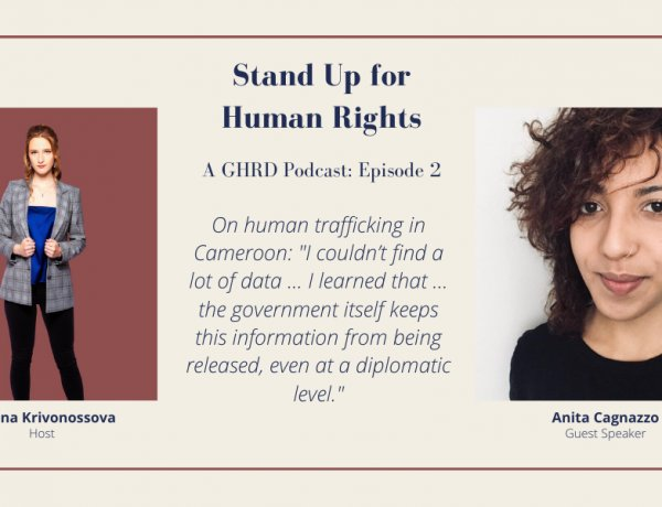 Stand Up for Human Rights Podcast Episode 2