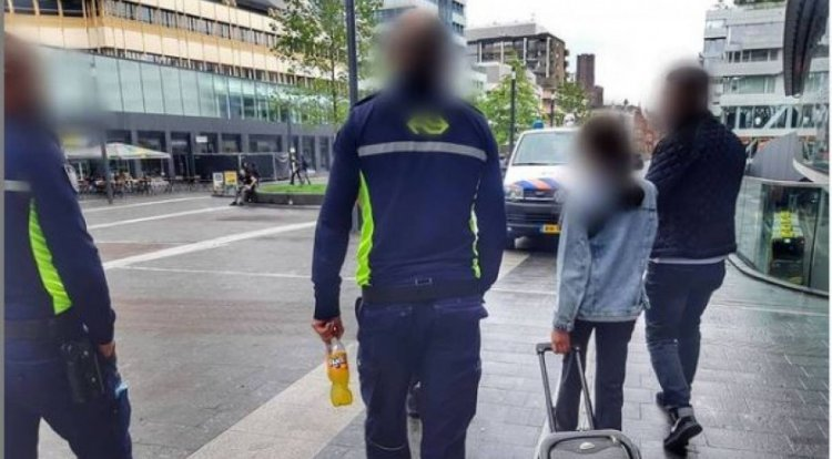 11 year old Syrian Girl found alone in Netherlands
