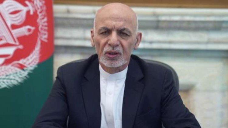 Afghan President Ashraf Ghani steps down