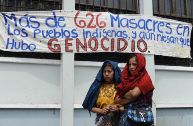 Court in Guatemala convicts two Military generals for committing war crimes and crimes against humanity.