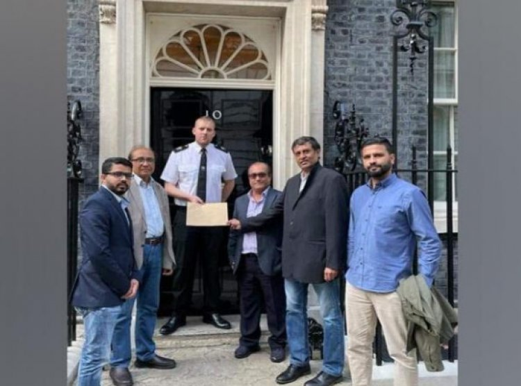 Protest in London against Genocidal Activities Pakistan