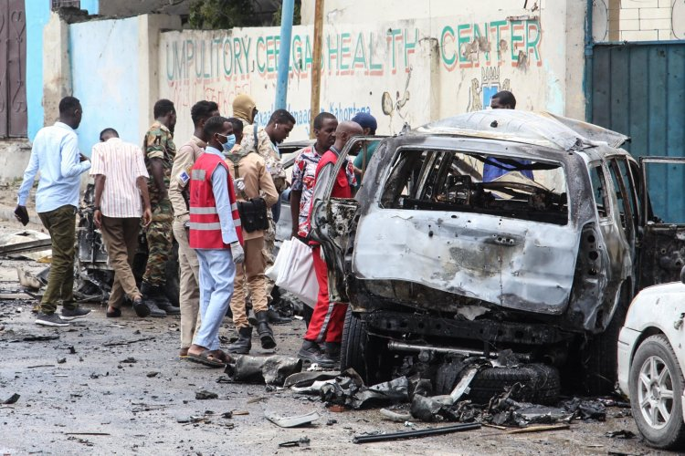 Suicide Bomber Kills at Least Eight in Somali Capital